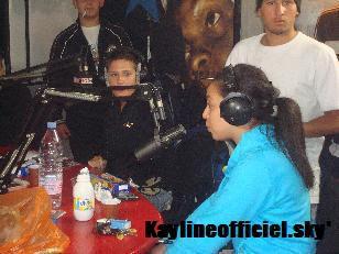 Kayline sur skyrock avec Diam's et Bakar
