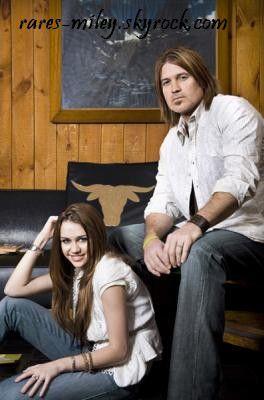 Miley et son père