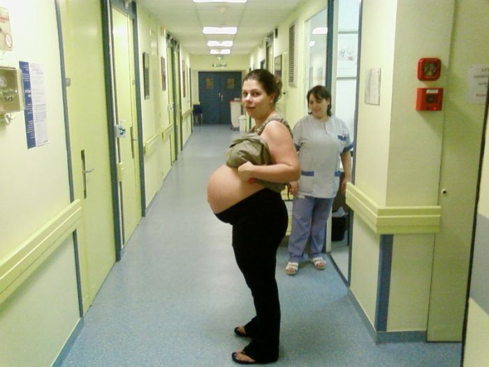 en mode enceinte de 8mois