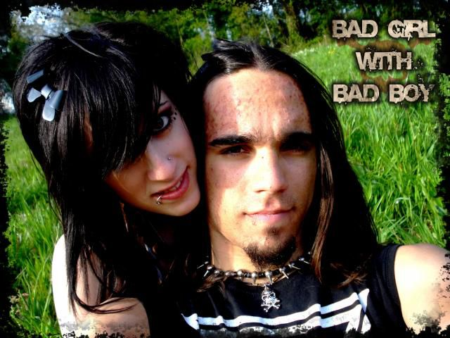 My best and me, bad boy and bad girl forever!!