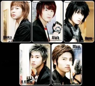 Micky, Xiah,Hero,U-known & Max