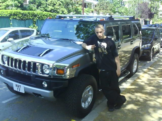 moi et le hummer de l US AIR FORCE