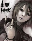 I LOVE ROCK AND