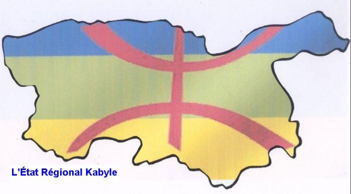 sa mes amis c'est la carte geographique de la belle  kabylie