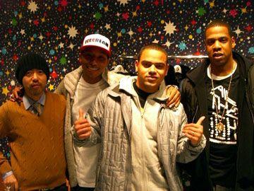 Nigo (Bape's Creator), Pharrell,Johnny Cakes & Jay-Z