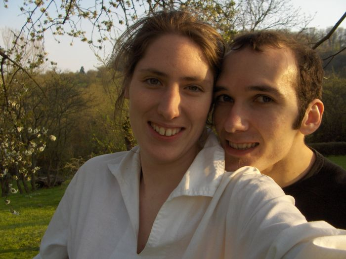 Julie et Vincent le 22 avril 2006