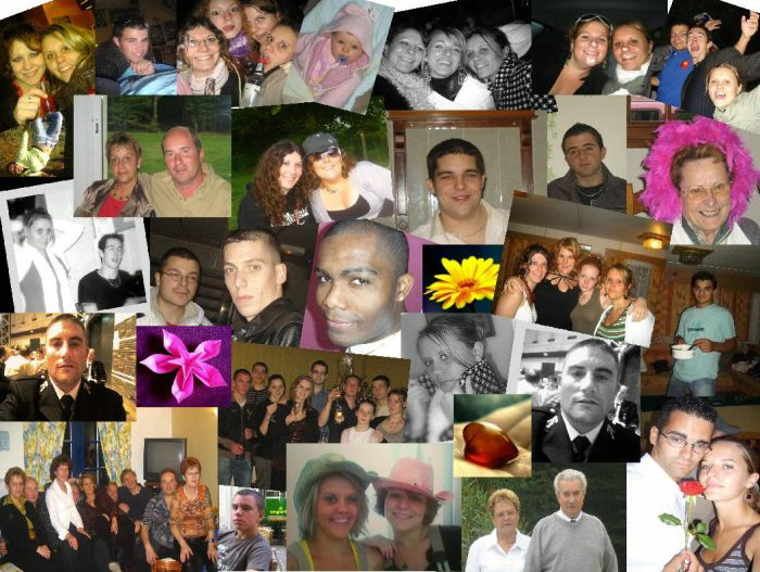Toutes les personnes ke j'aime,et ki font partie de ma vie!!