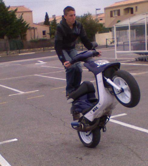 The wheeling (mon scoot)