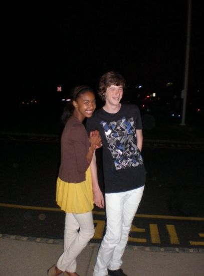 Nysia and Jerson (Very good looking guy ;p)