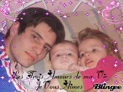 voici les trois Amours de ma vie