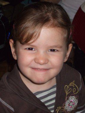 Voici ma fille  Lauriane  qui aura bientot 4 ans