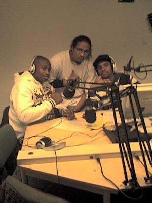Le Crew REMAL avec DJ KOMBO en plein freestyle