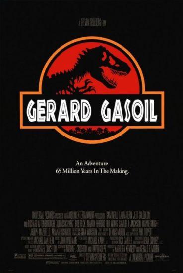 Gerard gasoil par ... vous savez quui