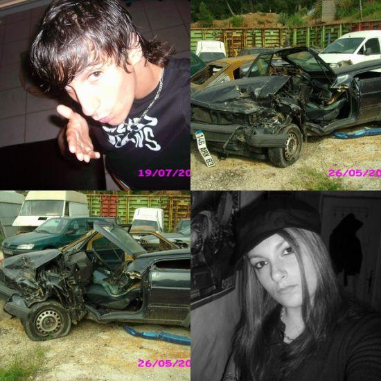 mon fere et moi et sa voiture
