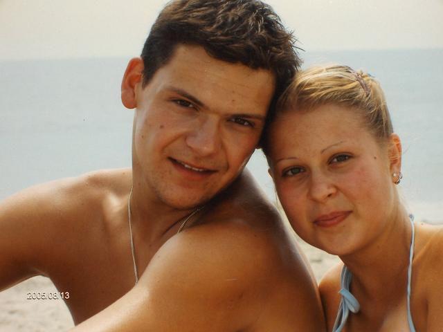 Mon cheri & moi a la plage