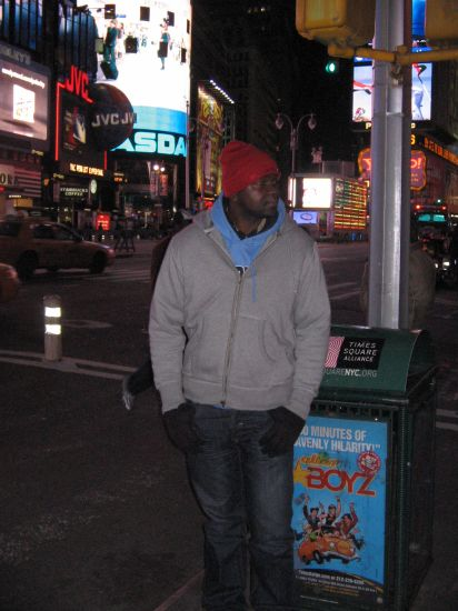 ds la 6 e  avenue vers le madison square garden NY city