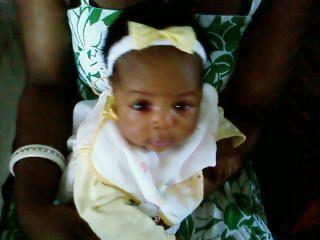 Ma petite nièce Olia!!!