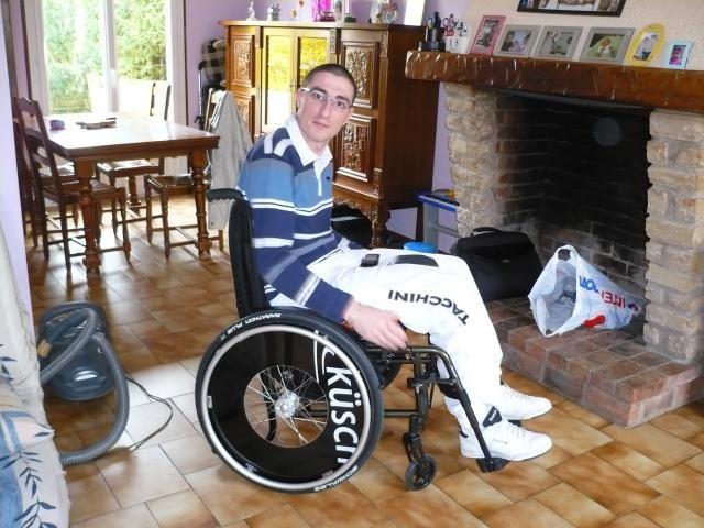 je ne suis plus en fauteuil désormais ;-)