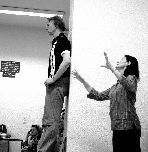 Francis & Chantal (nos professeurs) <3