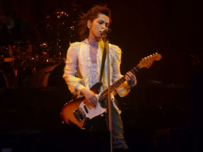 Hyde au concert du Zenith de Paris le 09.05.2008