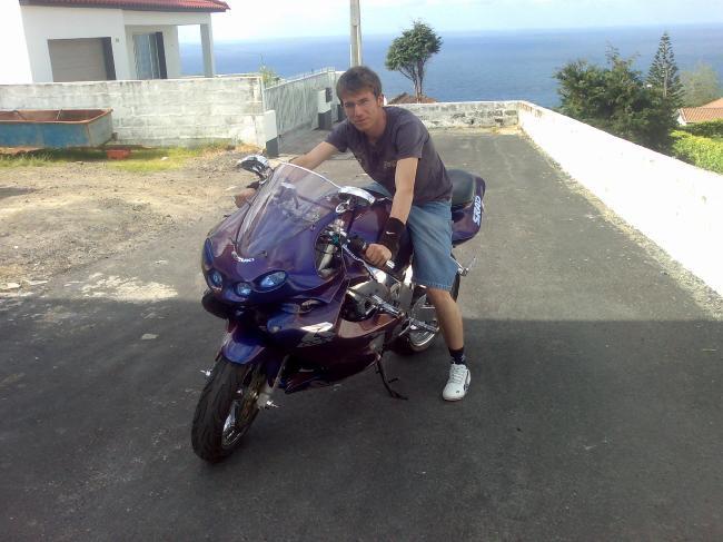 With my SUZUKI R_GSX 750