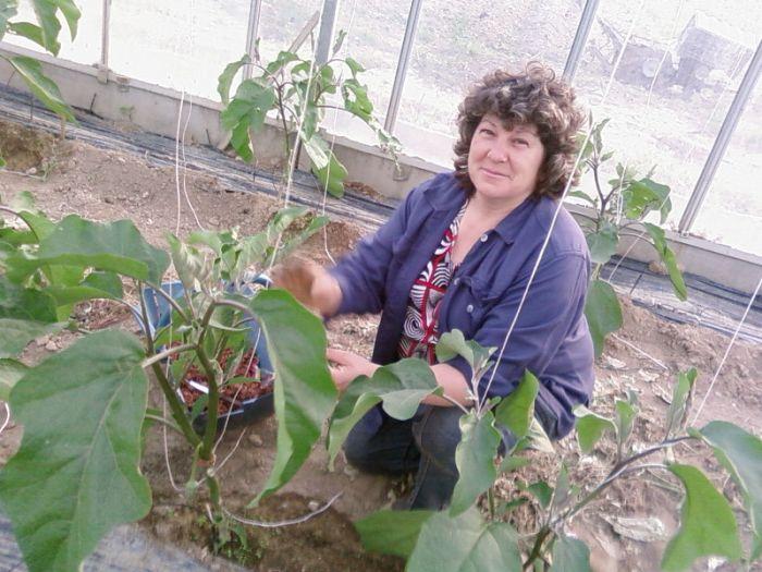Anita,ma mère l'agricultrice