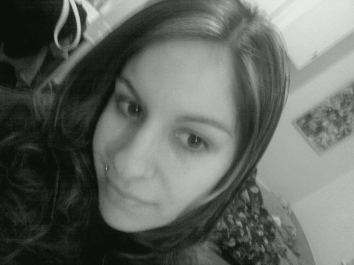 Me in black and white