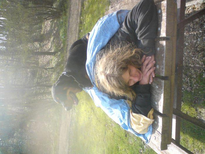 moi et la gros biouilloutte un londemain de chouill
