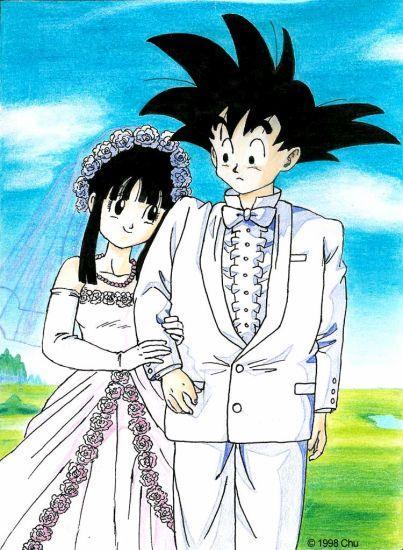 le mariage de sangoku!!!!