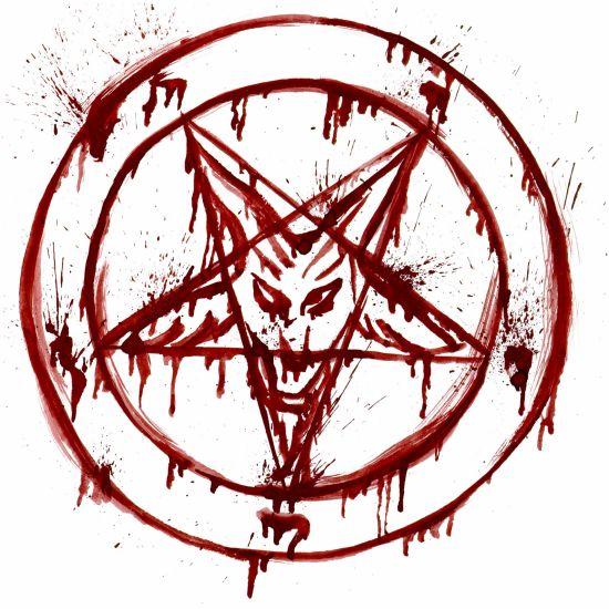 Pentacle satanic