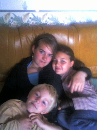Mes 3 autres enfants Fanny, Valentine et Julien