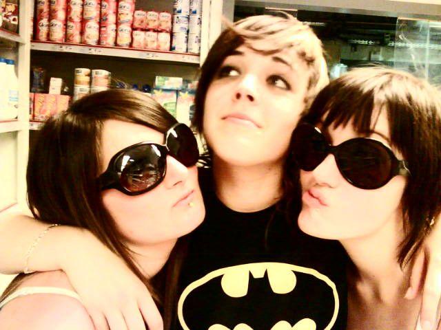 Moi, Morgane et Maeliss. <3