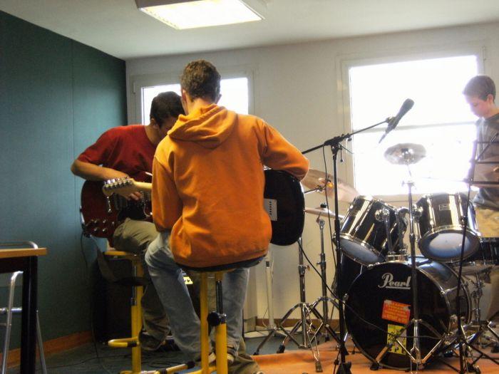 Ba nous en salle musique