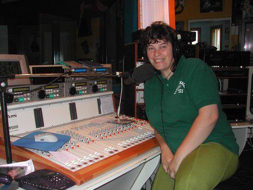 animatrice radio pendant 9 ans