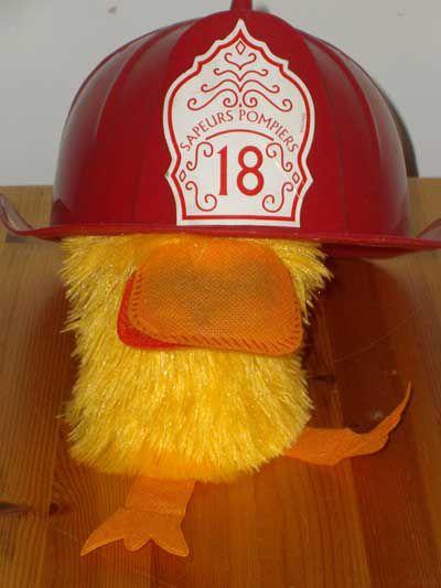 Roger en mode pompier !