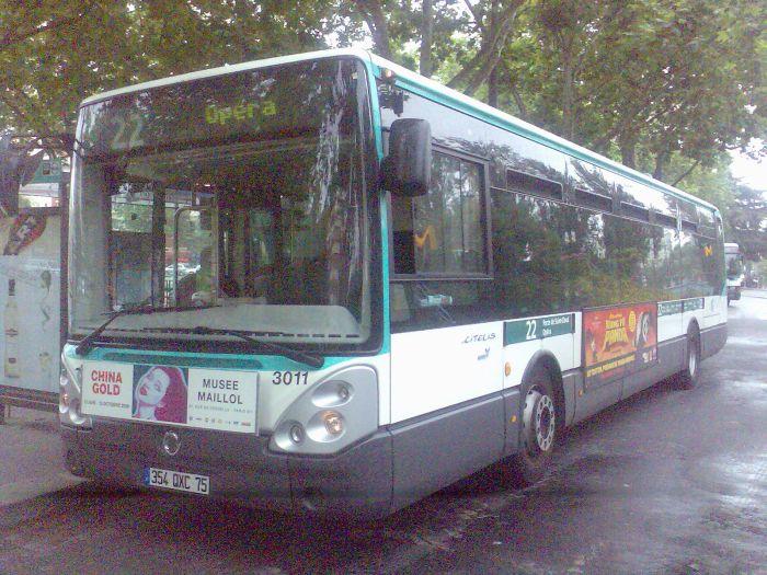 Irisbus Citelis 12 de la RATP