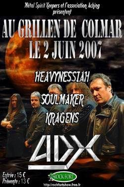 SOULMAKER - 1ère partie de ADX