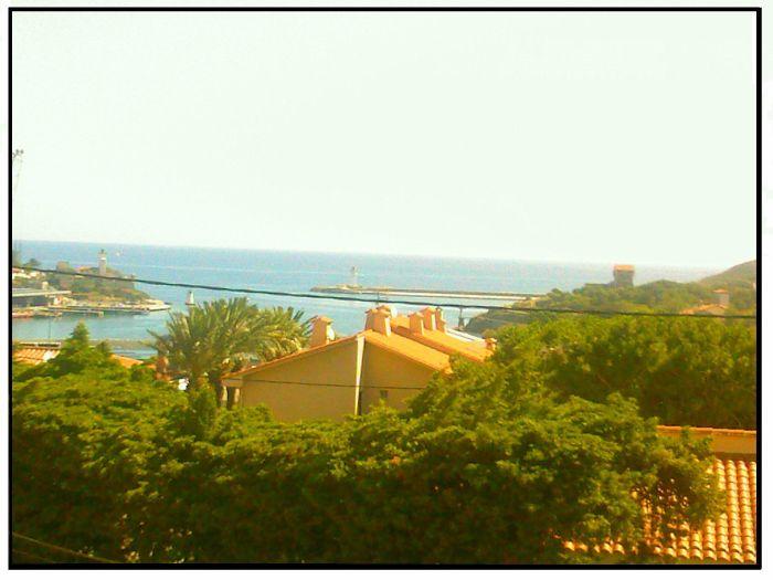 La vue de la maison de vacance <3