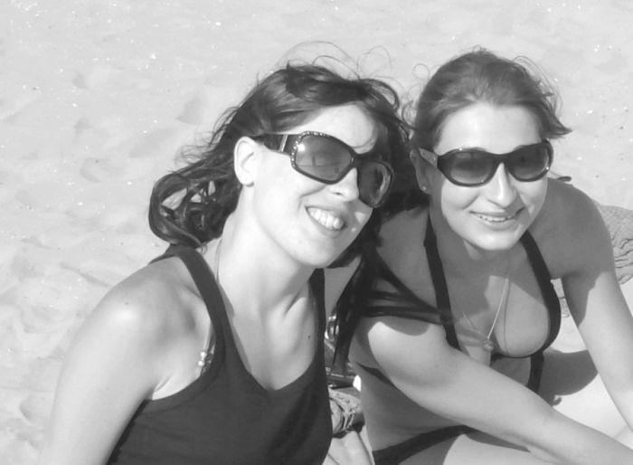 Ma {jolie} soeur et Fiona la belle aussi :D