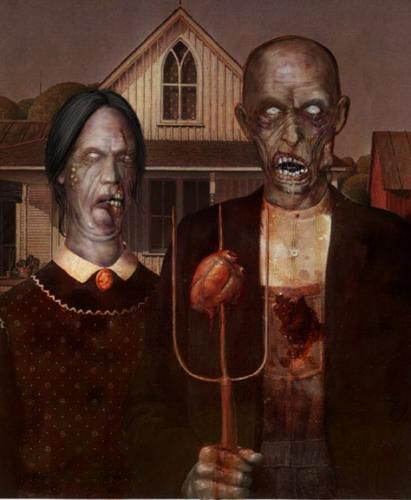 American gothic version... gore ?
