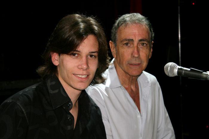 Photo avec Alain Chamfort, oui oui, ce n'est pas un rêve !