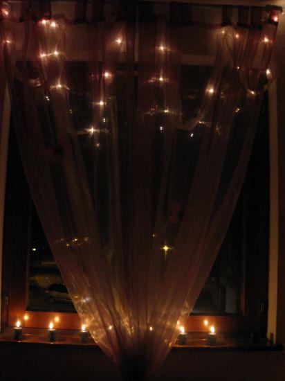 Bout de ma chambre la nuit