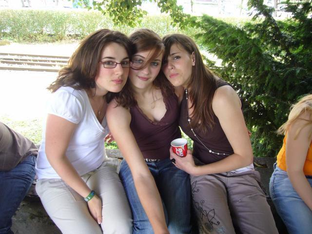 Lindsay, Laura et moi