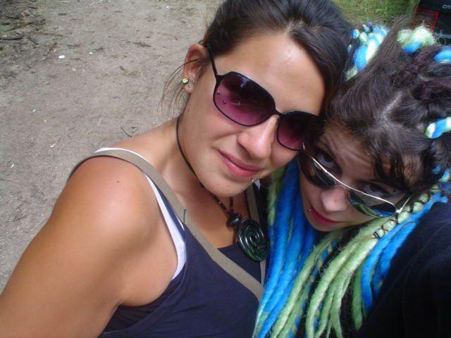 Ma belle byby et moi tjs en mode BG ^^