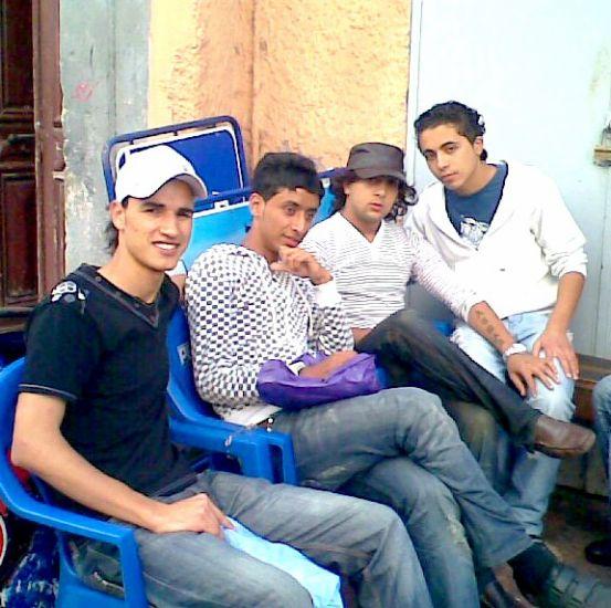 avec  amis de ajwad