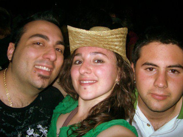 Alex, Guti y Yo en la fiesta de la primaver 08
