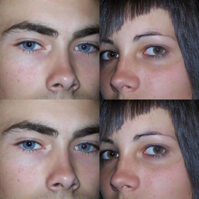 nos yeux
