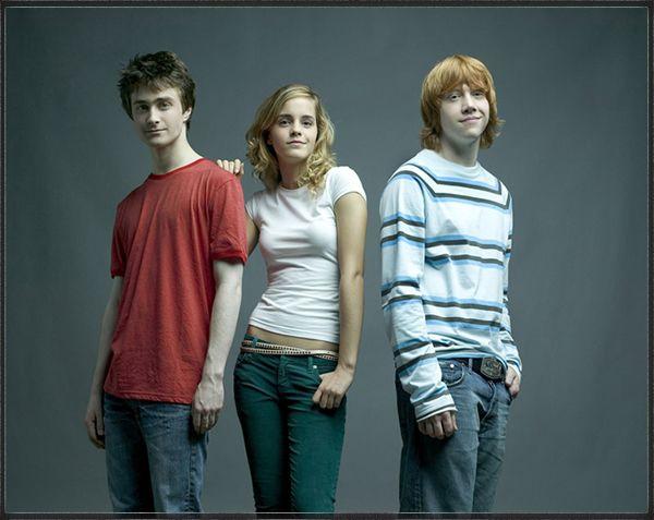 harry ron et hermione