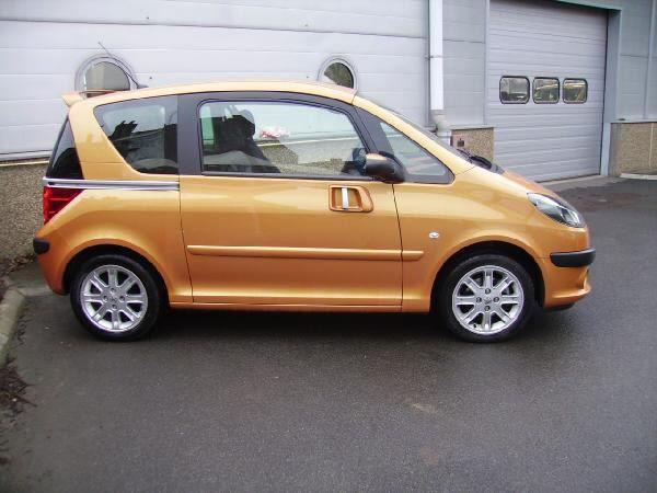 Mon anciene voiture (1007 toutes options)
