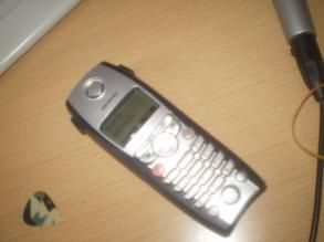 Cyriel au téléphone x'D